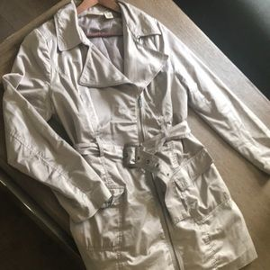 DKNY JEANS Belted Trench